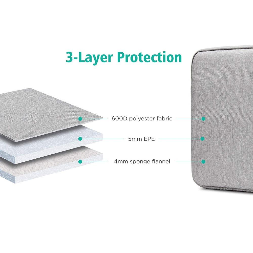 Waterproof Laptop Bag 11 12 13 15 15.6 Inch HandBag Case Cover for MacBook Air Pro 2018 2019 Mac Book Zipper Sleeve Accessories