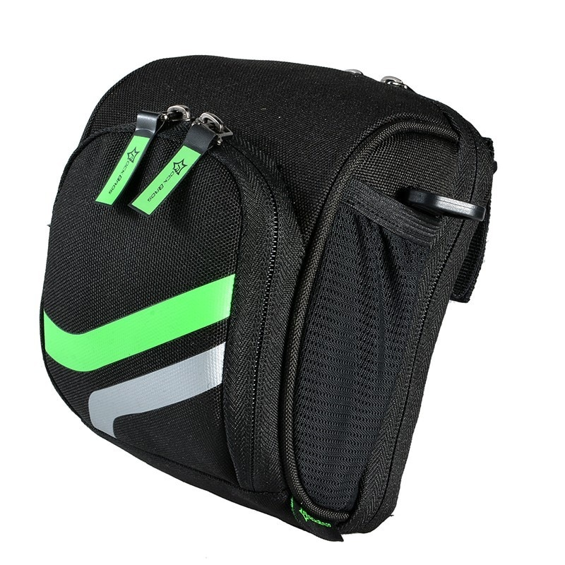 RockBros Bicycle Bike Handlebar Bag With Rain Cover Cycling Top Tube Bag MTB Folding Bike Bicycle Front Bag Bike Accessories