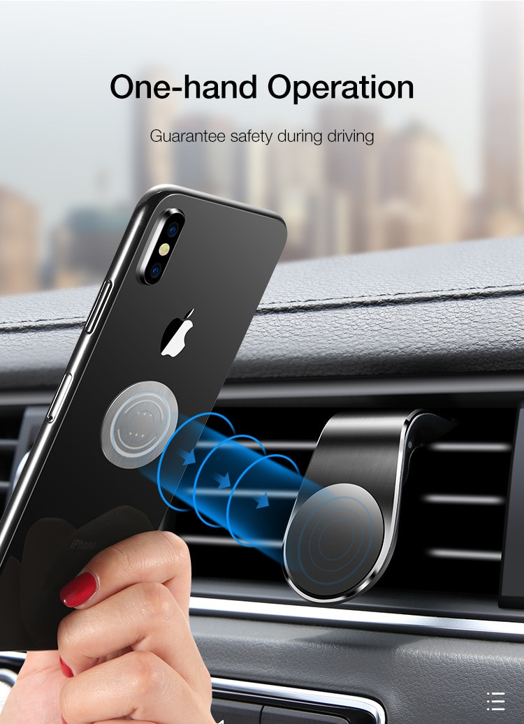 Universal Car Magnetic Phone Holder For iPhone Samsung Huawei Air Vent Smart Phone Stand For Xiaomi Oneplus Car GPS Bracket