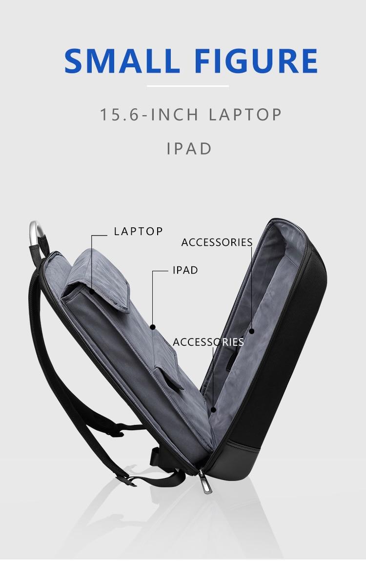 Backpack 15.6 Inch Laptop Bag Slim Rucksack Pack