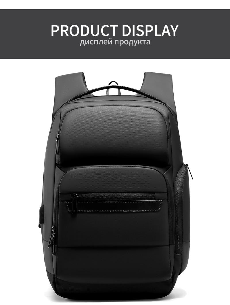 Travel Backpack 15.6 inch Laptop Bag Water Repellent