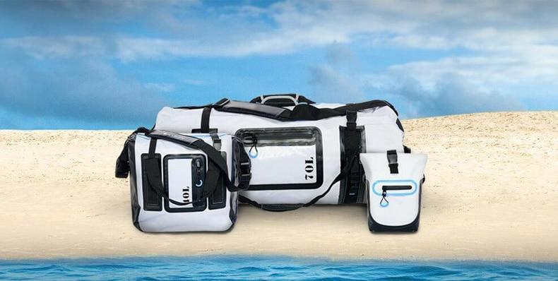 Dry Bag 20L 50L 70L River Trekking Handbag Luggage Waterproof Bag New Gear Duffel Bags for Boating Hiking Camping Beach