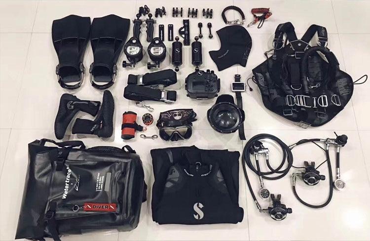 Waterproof Backpack Scuba Diving Bag