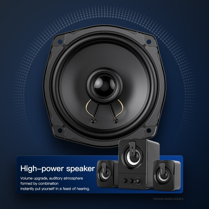 Computer Speaker 4D Surround Sound Mini Stereo Bluetooth