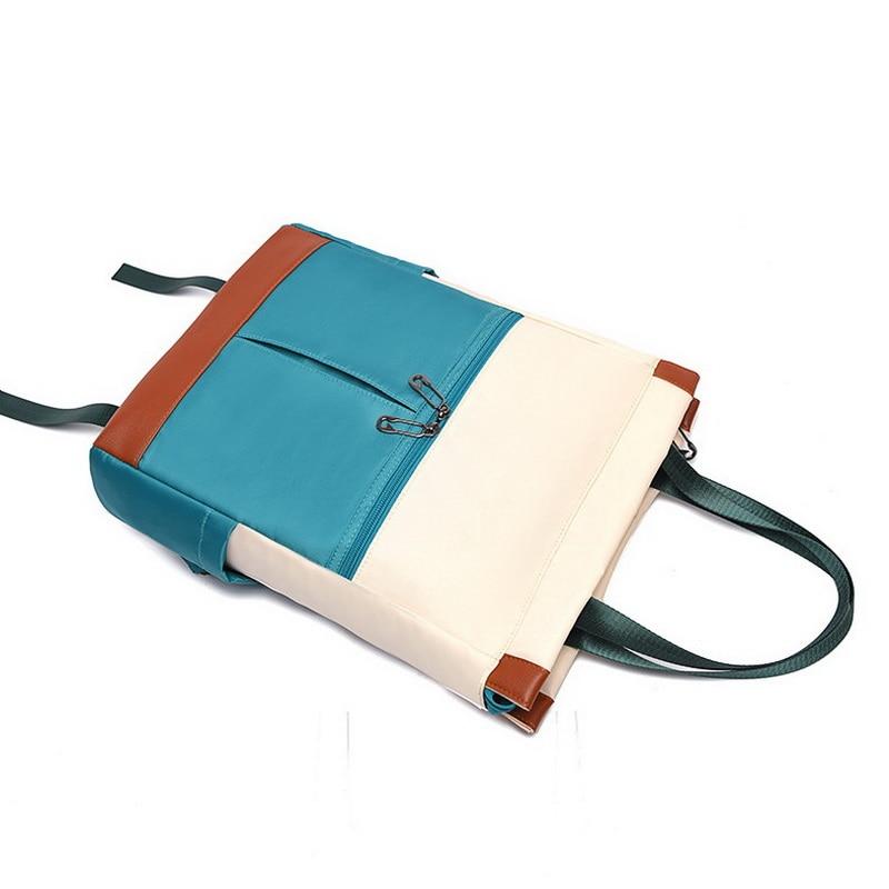 Oxford Waterproof Women Backpack Laptop Shoulder Bag
