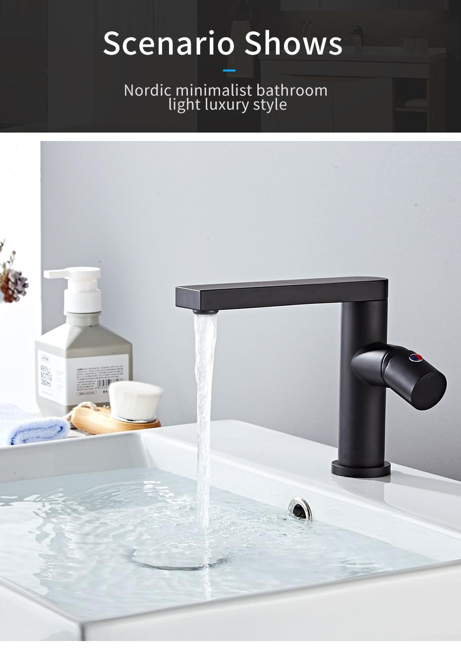Basin Faucets Bathroom Water Mixer Tap Crane
