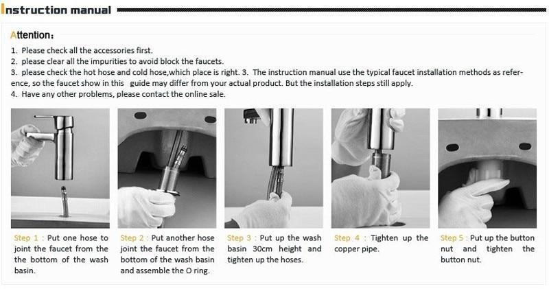Basin Faucet Brass Bathroom Vessel Sink Single Handle
