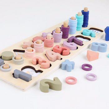 Wooden Math Toy