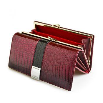 Wallets Leather Women Patent Purses