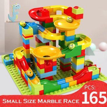 Marble Race Run Bricks Set Small Size