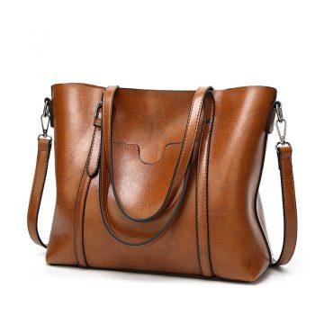 Tote Bags Faux Leather Women Fashion Handbag