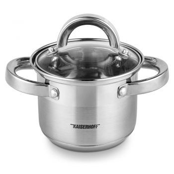 Stock Pot Stainless Steel Binaural Cooking Pots