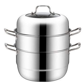 Steamer 304 Stainless Steel 3 Layer Steam Cooker