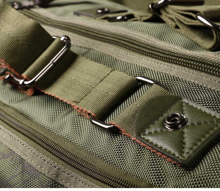 Camouflage Travel Bag Folding Oxford Cloth Waterproof Shoulder