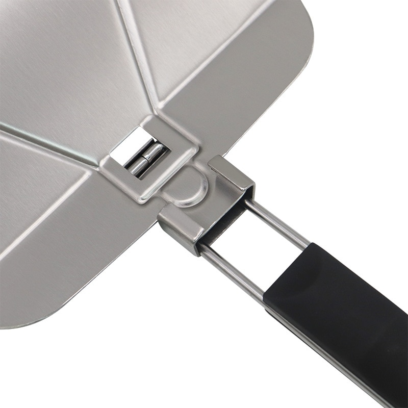 Stainless Steel Pizza Peel Pie Paddle Folding Handle Paddle